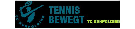 Tennisclub Ruhpolding … schön dabei zu sein! Logo